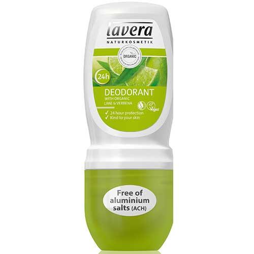 Lavera Organic Roll On Deodorant lime 50ml