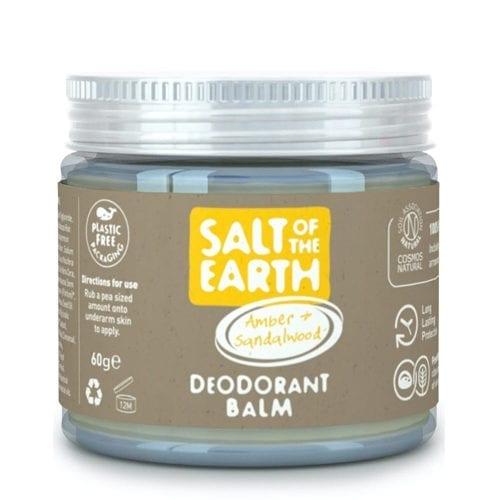 Salt of The Earth Amber and Sandalwood deodorant balm
