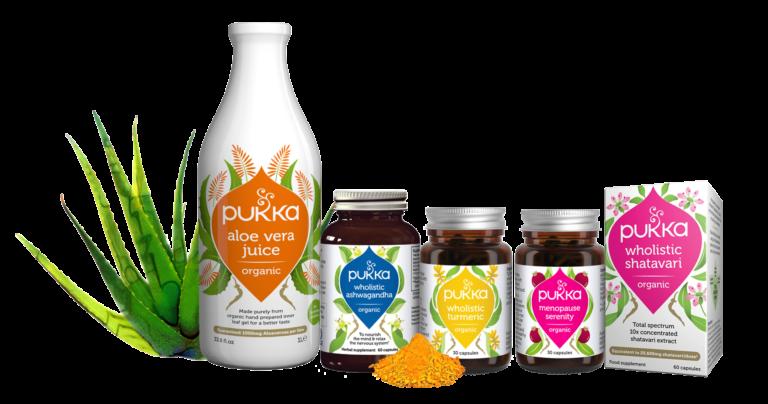 Pukka Supplement range 20% off