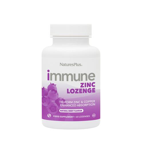 Natures Plus Immune Zinc Lozenges 60