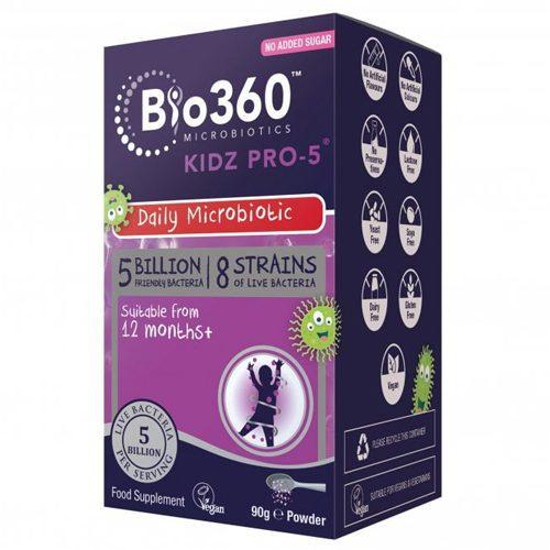 Natures Aid Bio 360 Kidz Pro-5 powder