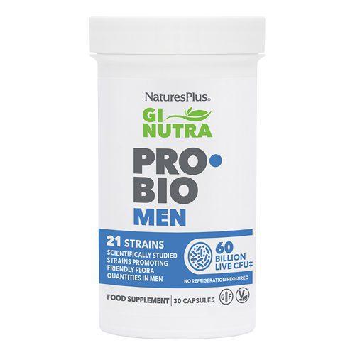 Natures Plus Gi Nutra Pro-Bio Men 30 capsules