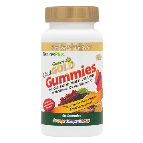 Natures Plus Source of Life Gold Adult gummies