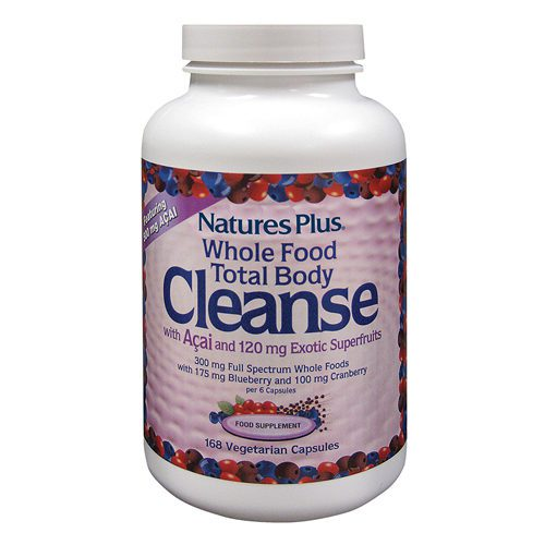 Natures Plus Whole Food Body cleanse 168 tablets