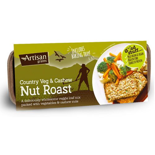 Artisan Grains Vegetable & Cashew Nut Roast